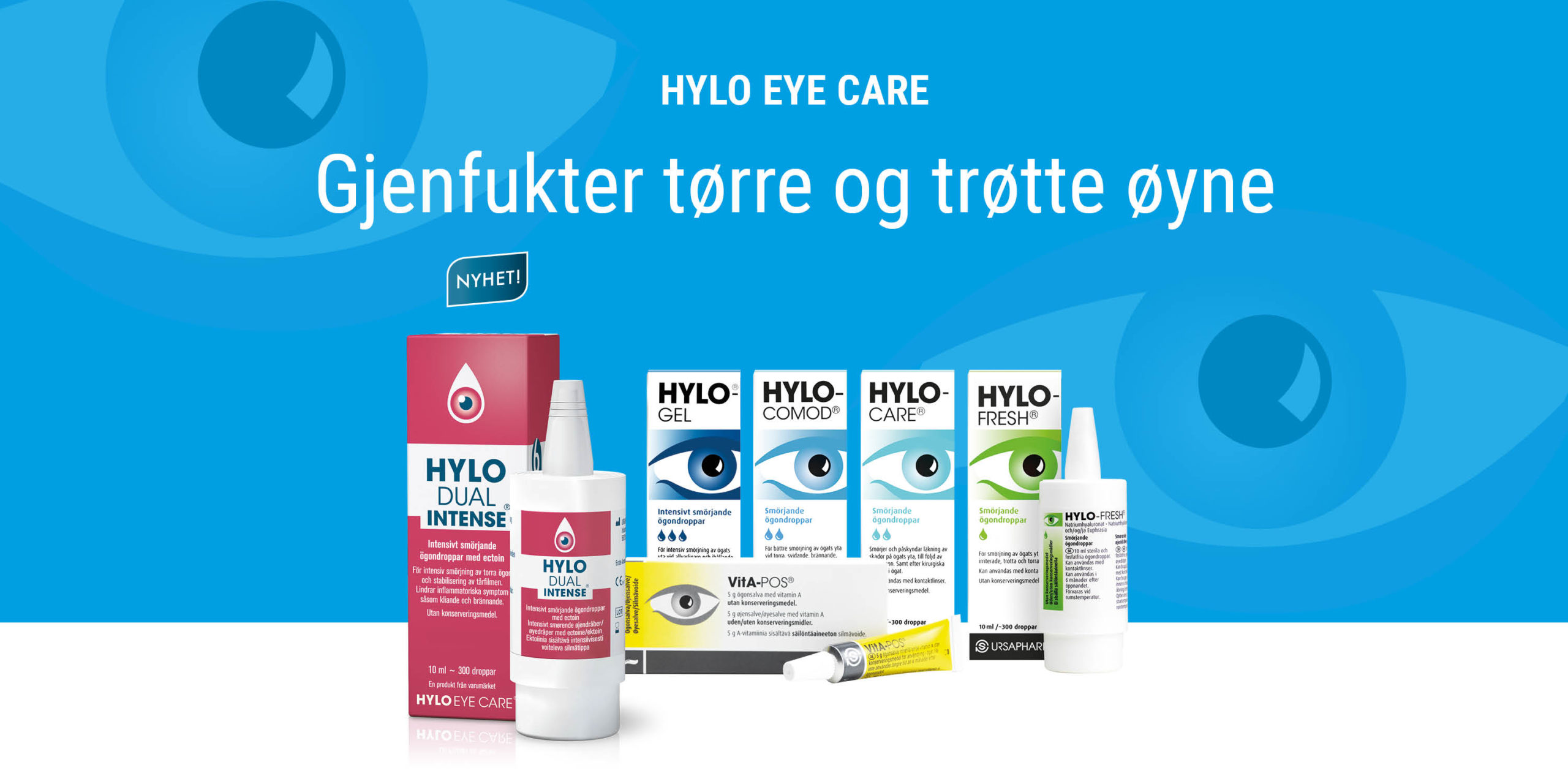 HYLO ögonvård